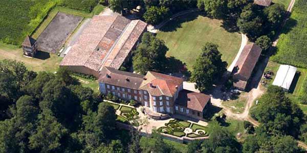 Château Lastours- Le domaine